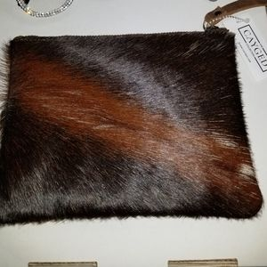 NWT Wristlet - Fur